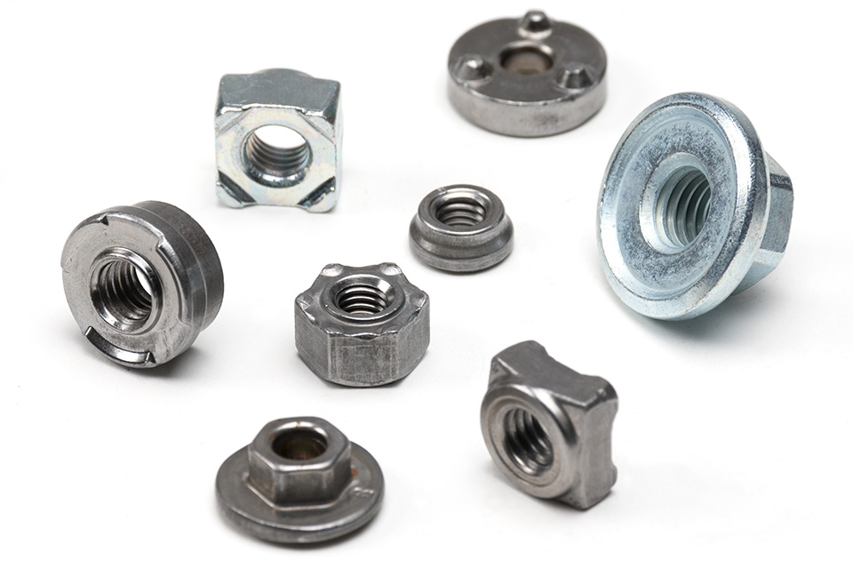 Ramco custom engineered weld nuts