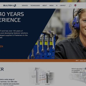 Bulten News Webpage Screen Grabautomotive bolts